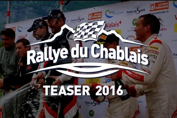 Teaser 13e édition Rallye du Chablais 27-28 mai 2016